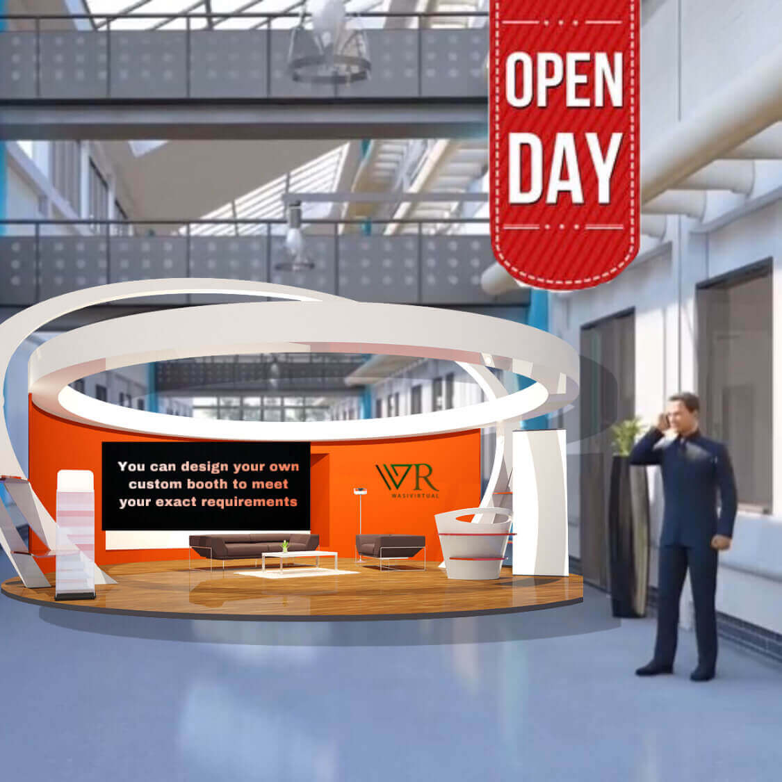 3-D open day