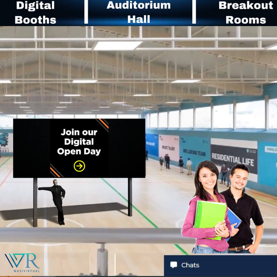 virtual open day software